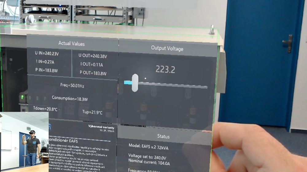 SMART linkový kondicionér + HoloLens
