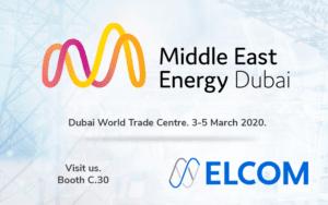 ELCOM na veletrhu MEE 2020 v Dubai