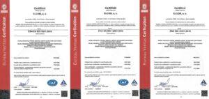 Certifikační auditnorem ISO